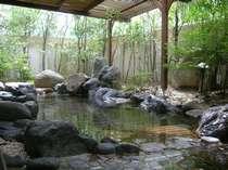 【露天風呂】朝の澄んだ空気の中、とっておきのリラックスタイムを♪