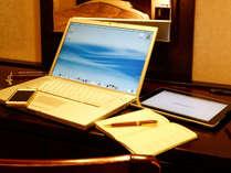 【客室イメージ】全室Wi-Fi接続無料♪静かな環境でお仕事もはかどります!