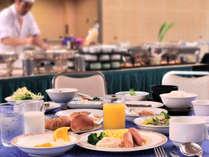 【朝食バイキング】和洋が揃っていてボリューム満点!※写真はイメージです