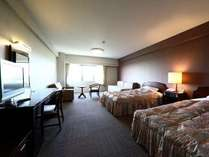 客室(洋室の一例)ゆったり広々36平米の洋室は禁煙室と喫煙室をご用意しております