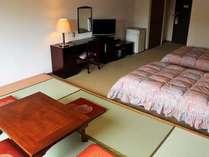 客室(和洋室の一例)休憩スペースとして便利な小上り付き