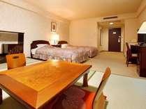 客室(和洋室の一例)休憩スペースとして便利な小上り付き♪