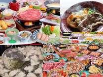 ご夕食はバイキング、または和食会席をご用意致します。