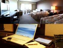 客室(イメージ)全室WiFi無料接続サービス利用可能
