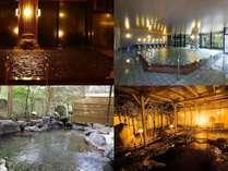 志賀の郷温泉・大浴場と露天温泉岩風呂