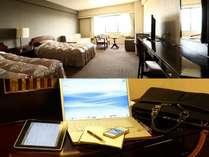 客室(イメージ)WiFi無料接続サービス利用可能