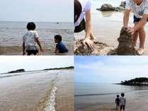夏+能登=海(安部屋海岸、ホテルから約3キロ)