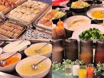 朝食バイキング(写真はイメージです)ご朝食もアレコレお好きなものをお好きなだけ♪