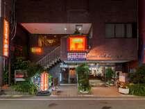寿々屋ホテルの外観