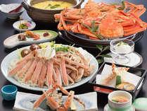 味も価格も大満足!【カニ楽膳】プラン ※カニすき~かに雑炊まで蟹6品