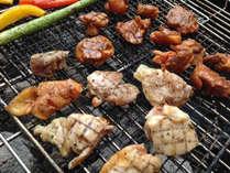 お肉もお野菜も焼いて、浜べキューを満喫!