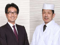 城山荘★浦松支配人と小杉料理長