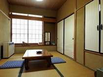 Eタイプ 一例 民宿程度のお部屋です。眺望無。