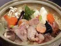 ■自慢のあんこう鍋 ビタミン・コラーゲンを豊富に含んだ茨城・冬の味をお楽しみ下さい。
