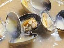 ◆アサリのワイン蒸し~これもまた厚岸の味覚!