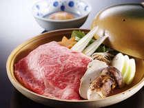 特選牛&松茸のすき焼き