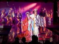 加賀屋雪月花歌劇団のショーを楽しむ★シアタークラブ「花吹雪」観劇付き宿泊プラン
