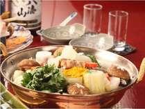 *冬限定★料理長特選!味噌仕立てのあったかお鍋です。