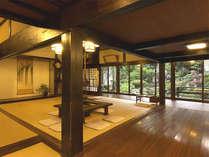 *ロビーに入ると江戸時代にタイムスリップしたように感じられます。