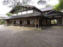 *【外観】当館は国の登録有形文化財に登録されております。