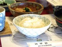 *朝食一例/新潟のおいしいお米をお召し上がりください。