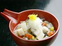 *夕食一例/越後の郷土料理「のっぺ」をお楽しみ下さい。
