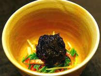 *夕食一例/素材の味を活かしたお料理。