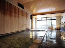*竹生の湯/広い湯船で岩室温泉をお楽しみください。