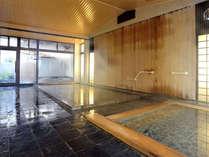 *竹生の湯/奥に露天の五右衛門風呂を併設しております。