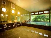 清潔感ある大浴場で日々のお疲れを癒してください