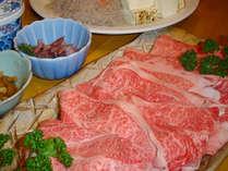 すき焼き用お肉例