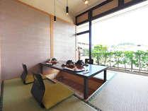 食事処「ひきの」。個室スペースもあり、親しい方々がゆっくりと語らえます。