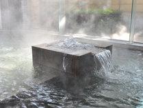 ゆったり過ごせる和風呂【白鷺湯】は1300年の間こんこんと湧き出る、源泉かけ流しのお風呂