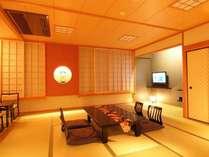 女将デザインの客室は、和モダンで、可愛らしい装飾があちこちに・・特に女性に人気です。