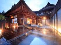 客室露天風呂(プレジデンシャルスイート光の間)