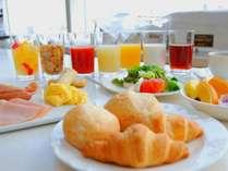 【朝食/洋食】デザートまで種類豊富な朝食バイキング!