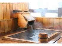 お部屋の半露天風呂