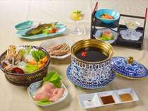 美楽黒湯御膳:夕食