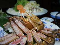 【皆でワイワイ】 鍋を囲もう!鍋奉行さんも、そうでない方もあったか贅沢♪夕部屋食 「カニすきプラン」