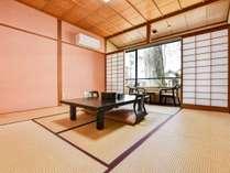 *【和室8畳(客室一例)】/畳の香りがほのかに薫るお部屋で団欒のひと時をお過ごし下さい。