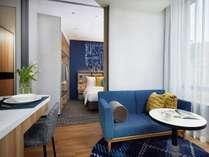 1ベッドルームダブル※実際のお部屋は空室状況によりますので、写真とは異なる場合がございます。