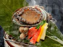 【夏の会席】あわび踊り陶板焼き付グルメプラン