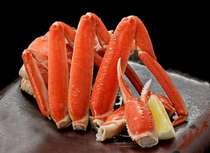 お好きな冬の味覚をチョイス!【選べる冬のグルメ付き会席プラン】A:大ぶり半身蟹