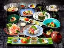 【いい矢田屋プラン】初夏の料理一例。内容は季節により変わります。 ※イメージ画像