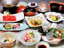【いい矢田屋プラン】初冬の料理一例。内容は季節により変わります。 ※イメージ画像