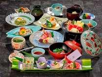 【いい矢田屋プラン】春の料理一例。内容は季節により変わります。 ※イメージ画像