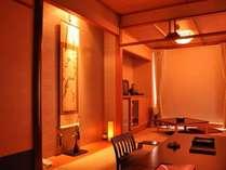 客室「漣」は露天風呂付(温泉ではありません)の画像