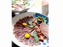 当館冬のおすすめ料理「鴨すき」は今だけ(2人前)の画像