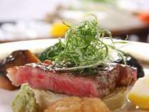 近江牛の美味しい一口ステーキの画像