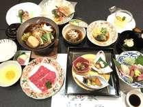 秋の会席料理の画像